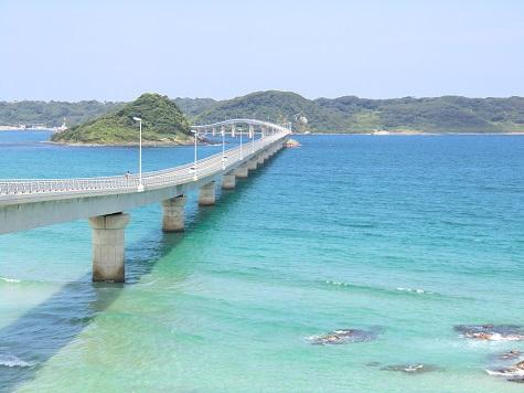 長さ1780m!無料で渡れる山口県にある角島(つのしま)大橋とは?