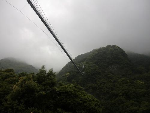 日本一の吊り橋はどこ?2番目の高さの吊り橋は?