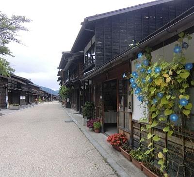 奈良井宿通り