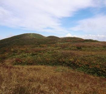 秋の白木峰