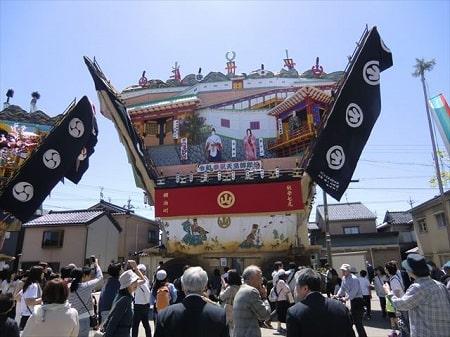 家より高い山車!七尾市で行われる青柏祭とは?